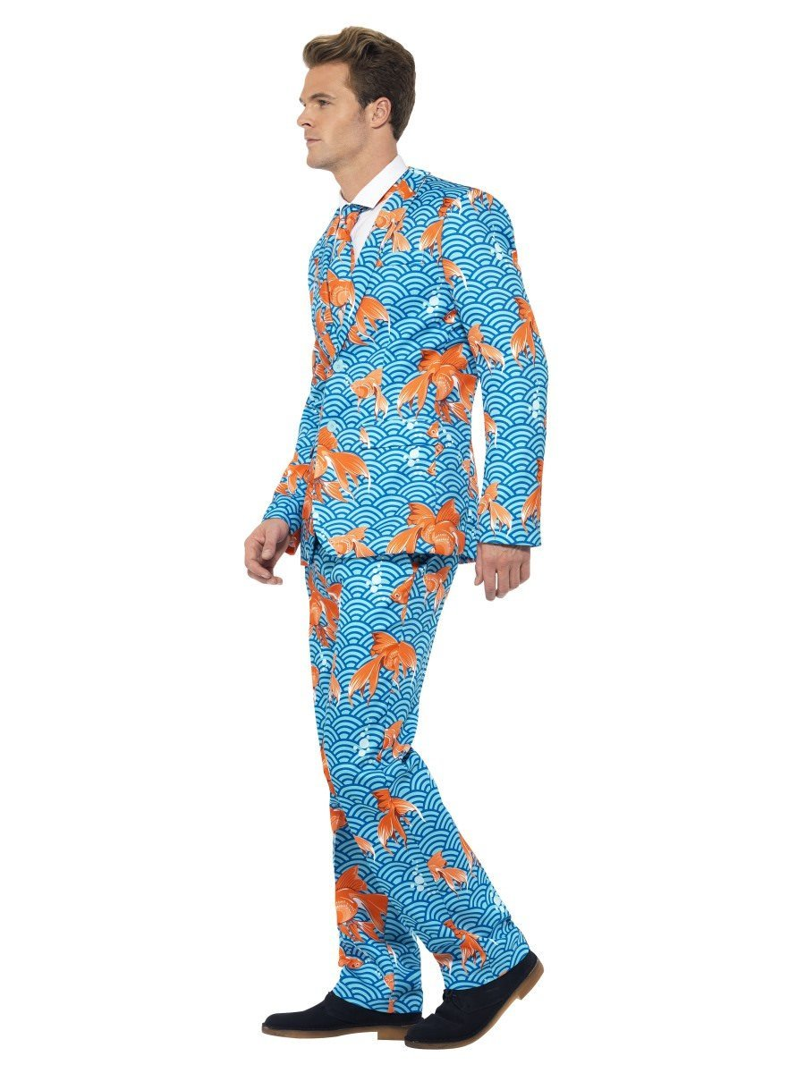 """GOLDFISH STAND OUT STAG NIGHT SUIT 38/""""-48/"""" chest mens fancy dress costume"""