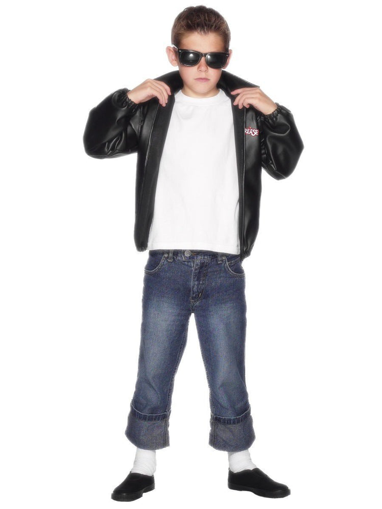 Smiffys Grease T-Birds Jacket, Child - 27491