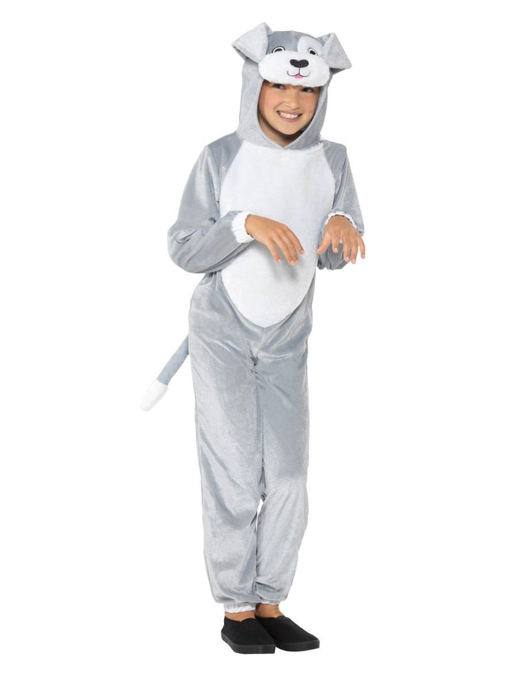 Smiffys Grey Dog Onesie - 49729