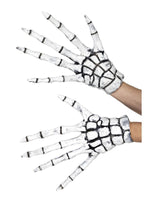 Smiffys Grim Reaper/Skeleton Gloves - 48181