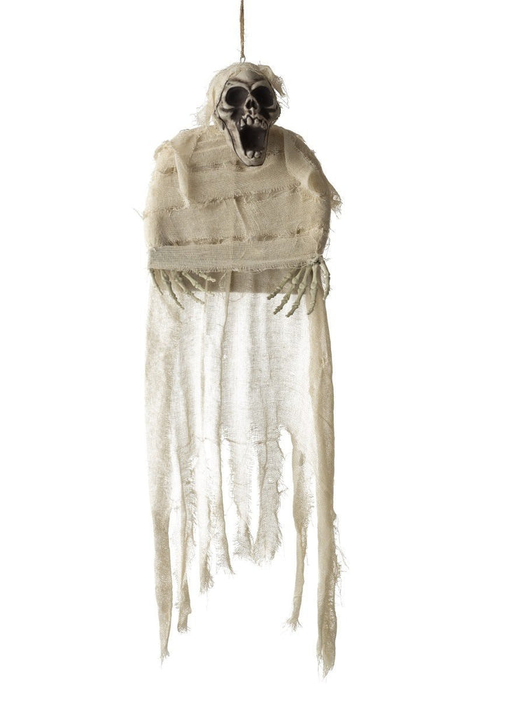 Smiffys Hanging Mummy Skeleton Decoration - 48219