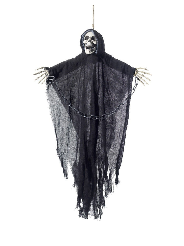 Smiffys Hanging Reaper Skeleton Decoration - 48223