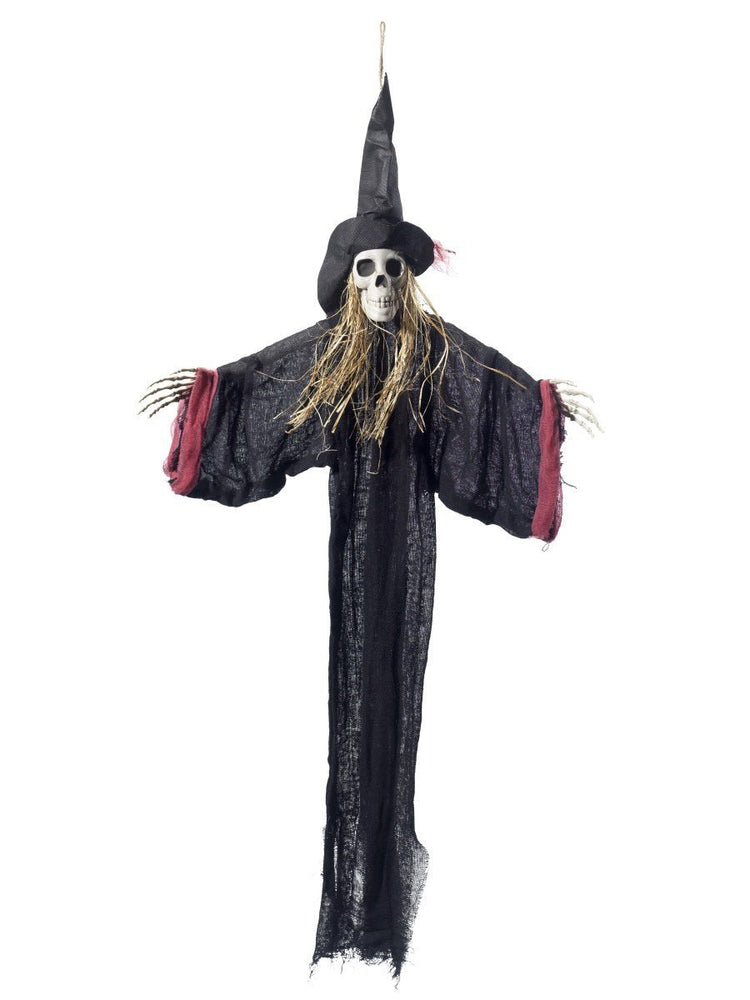 Smiffys Hanging Witch Skeleton Decoration - 48222