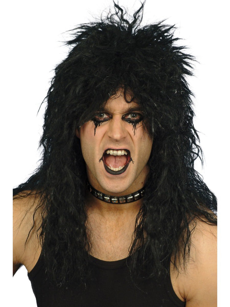 Hard Rocker Wig, Black