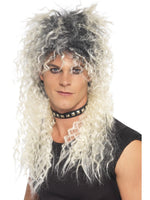Hard Rocker Wig, Two Tone Blonde