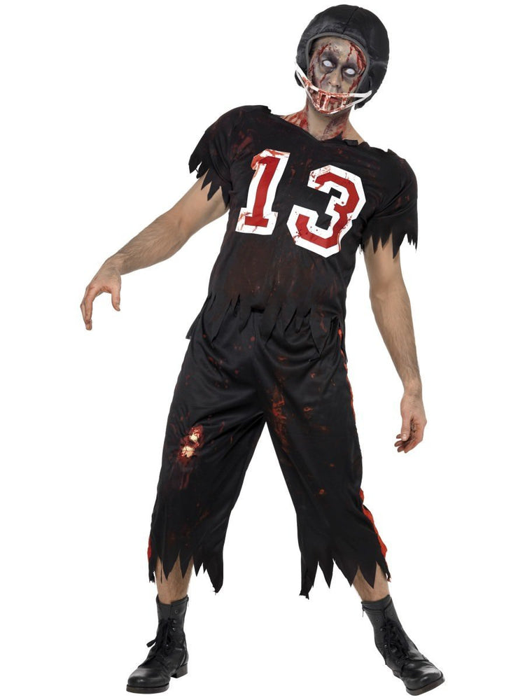 High School Horror, American footballer costume