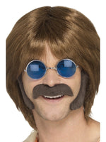 Smiffys Hippie Disguise Set, Brown - 48098