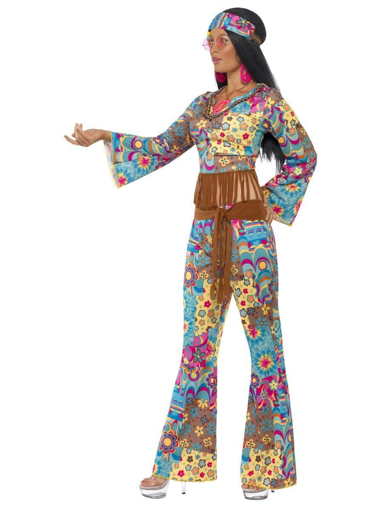 Hippy Flower Power Catsuit