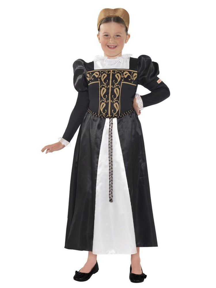 Mary Queen of Scots Costume, Child