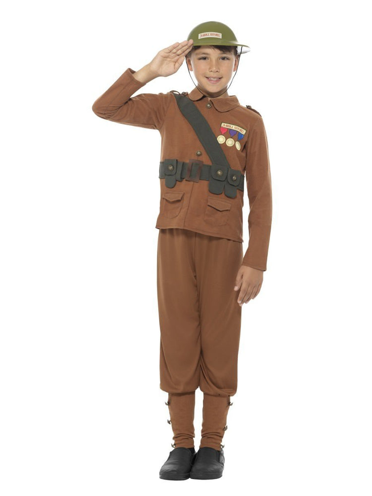 Smiffys Horrible Histories Soldier Costume - 42996