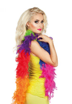 Feather Boa 50g Rainbow