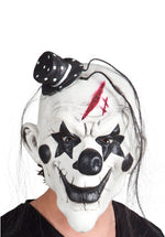 Psycho Clown Latex Mask with Hair