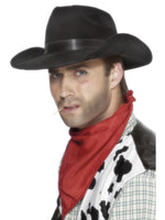 Indestructible Cowboy Hat, Black