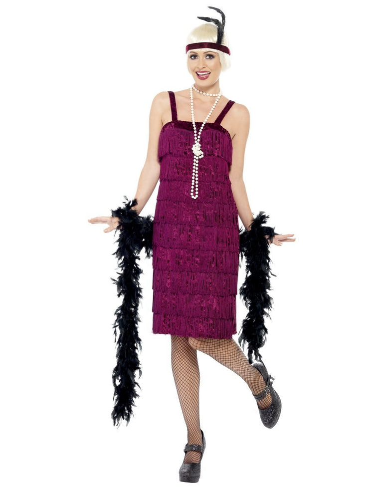 Smiffys Jazz Flapper Costume - 26110