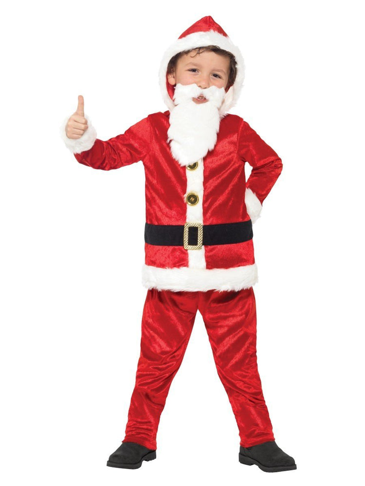 Smiffys Jolly Santa Costume, Kids - 21812