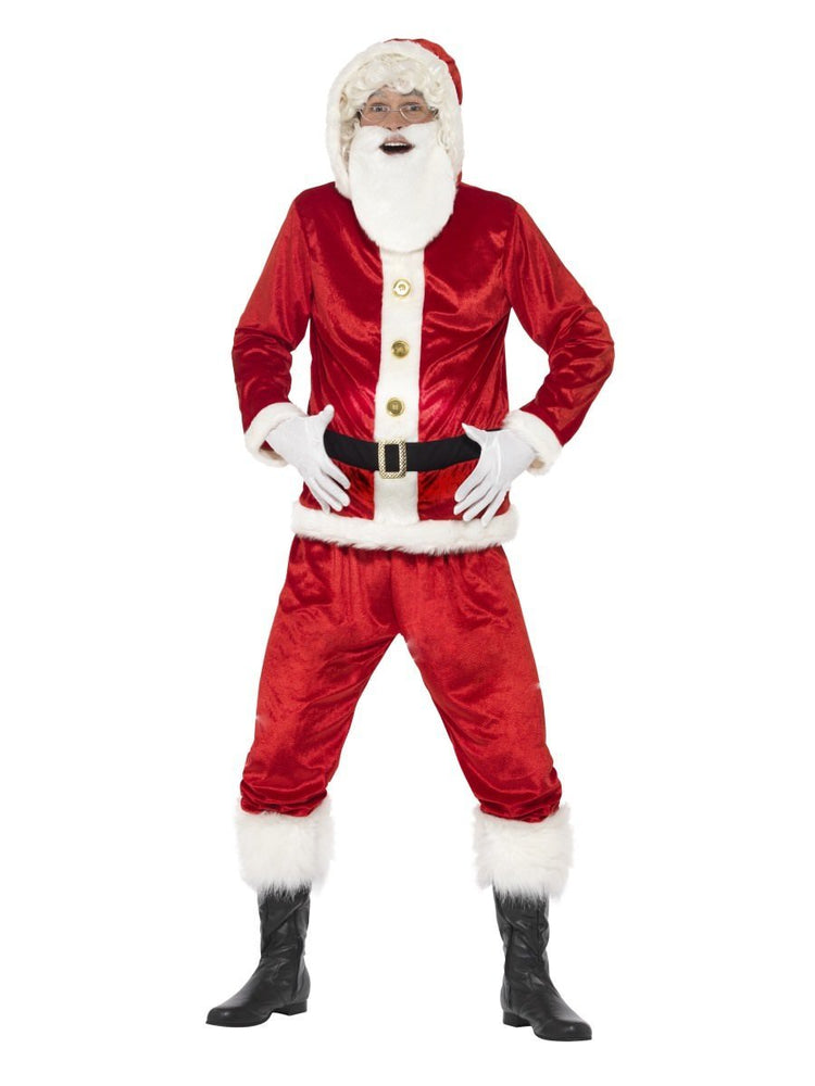 Jolly Santa Costume with Sound