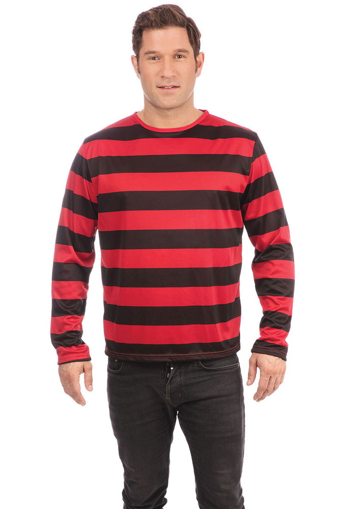 Jumper Red and Black