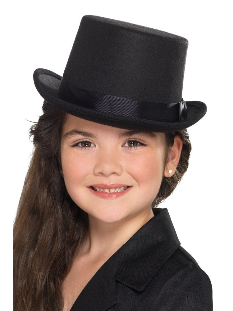 Kids Top Hat, Black