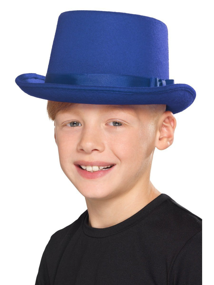 Kids Top Hat, Blue
