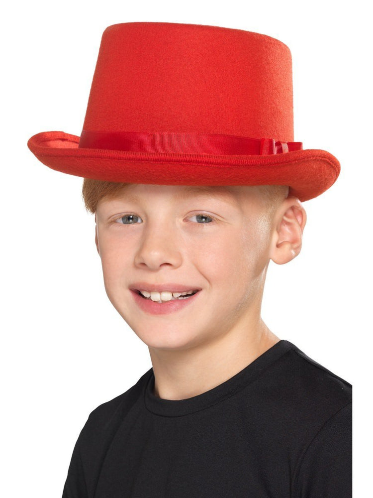 Top Hat Red Child