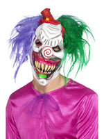 Smiffys Kolorful Killer Klown Mask - 47043