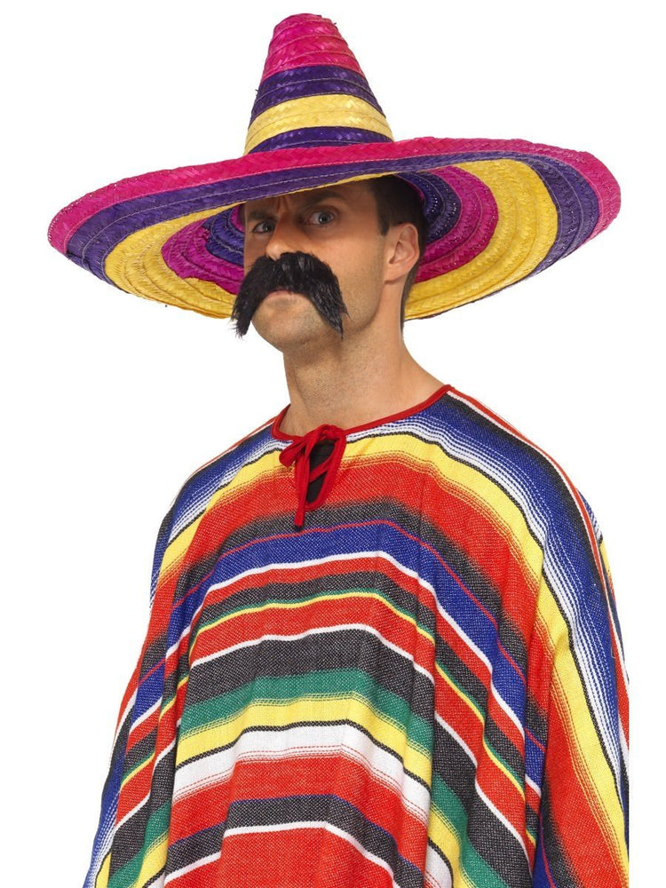 Large Sombrero, Multi-Coloured