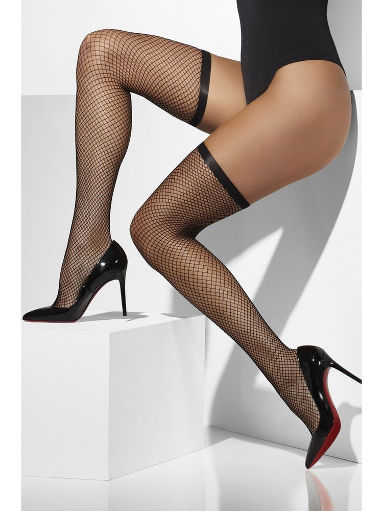 Lattice Net Hold Ups, Black
