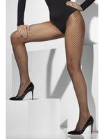 Lattice Net Tights Black