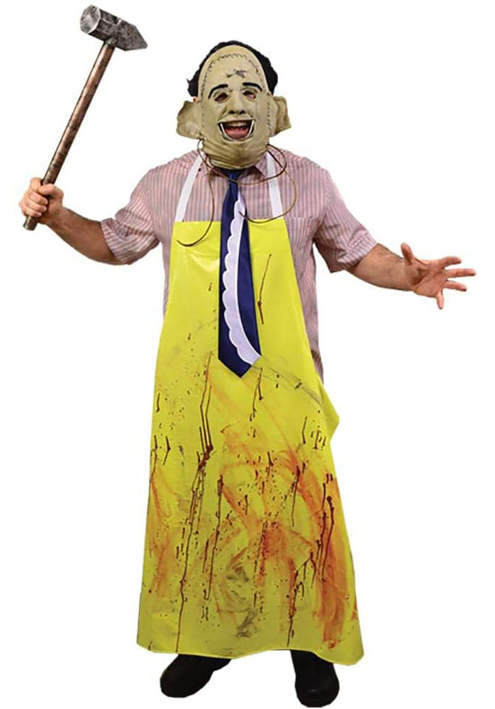 Leatherface Costume with Mask - The Texas Chainsaw Massacre