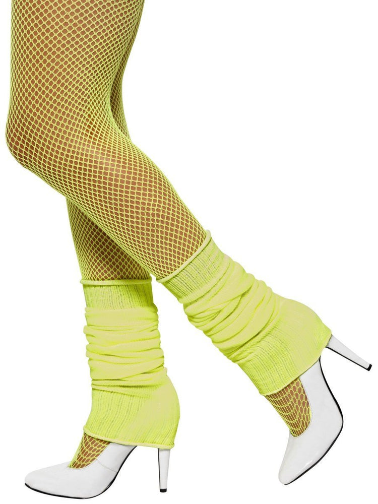Leg Warmer Neon Yellow
