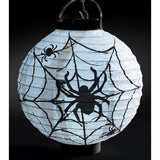 Light Up LED Paper Spider Web Lantern