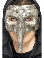 Luxury Venetian Capitano Mask