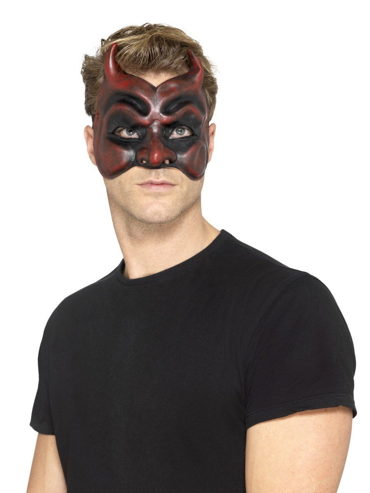 Masquerade Devil Mask, Latex