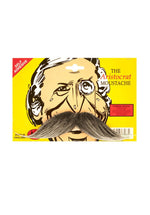 Aristocrat Moustache Grey