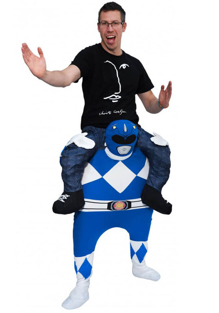Power Rangers Piggy Back Blue