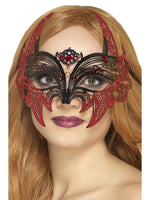 Smiffys Metal Filigree Devil Eyemask - 45034