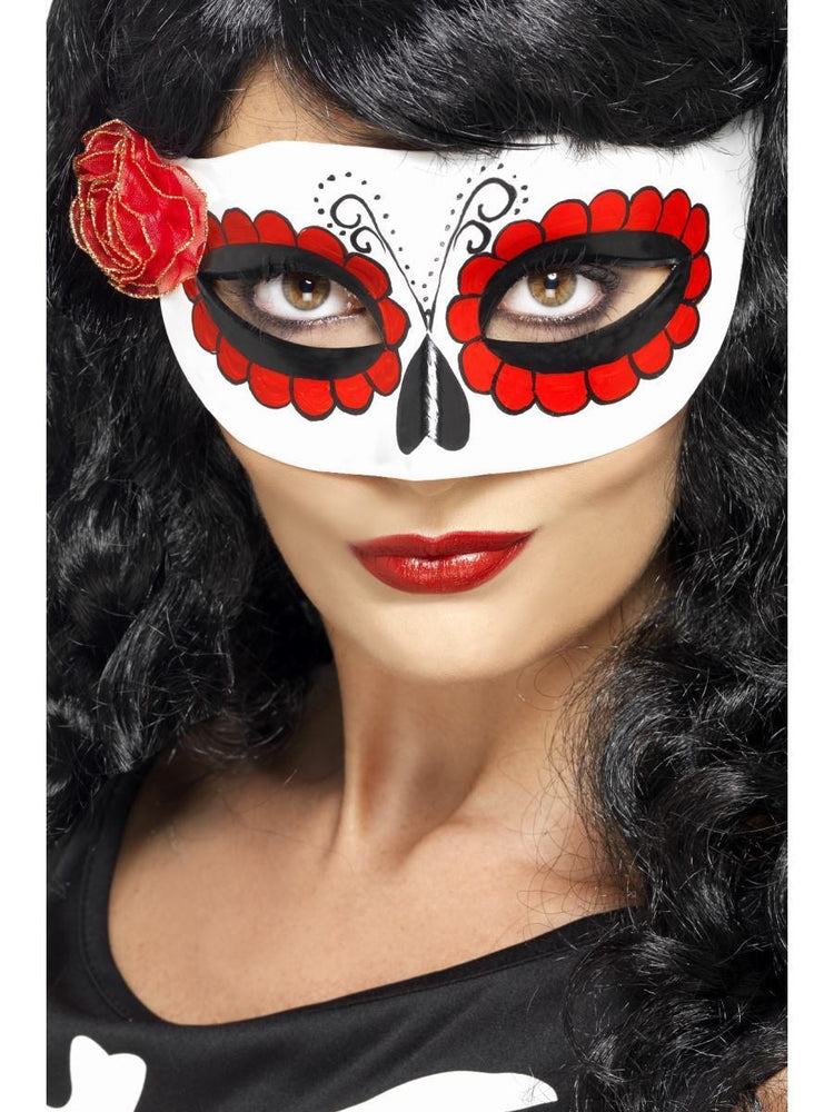Smiffys Mexican Day Of The Dead Eyemask - 27854