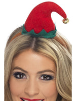 Elf Mini Hat On Headband