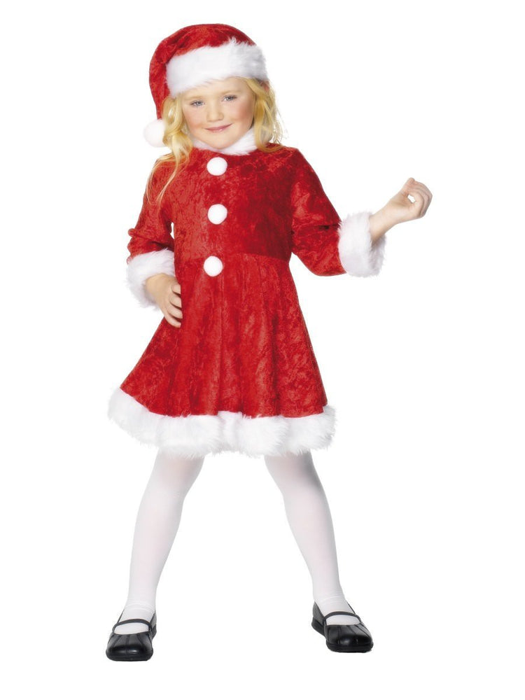 Santa Girls Child Costume