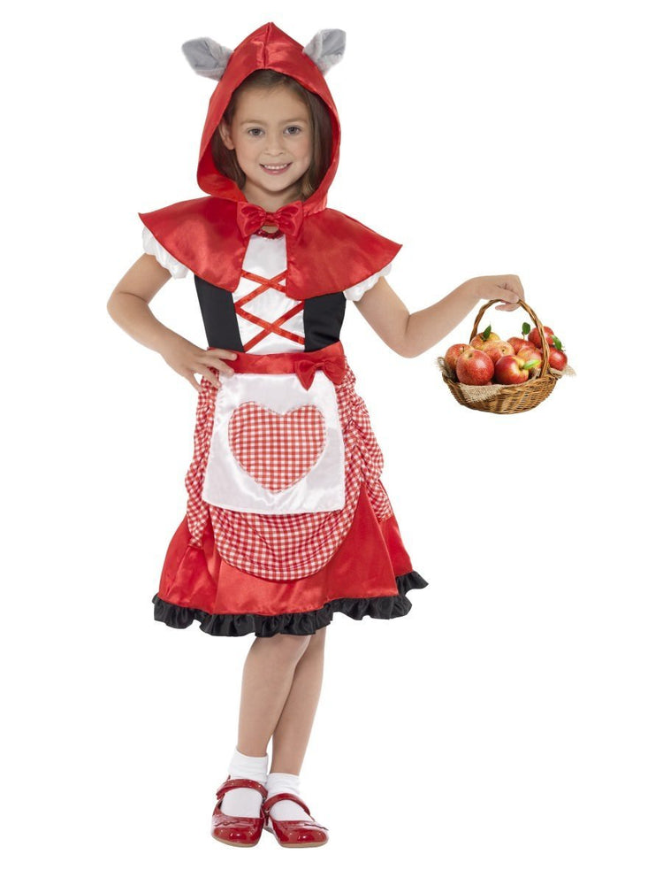 Miss Hood Costume, Child
