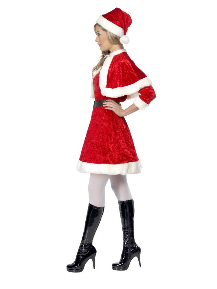 Miss Santa Costume, with Cape & Belt29005