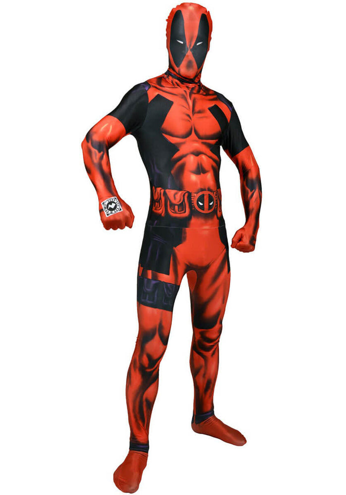 Adult Deadpool Morphsuit Deluxe Costume