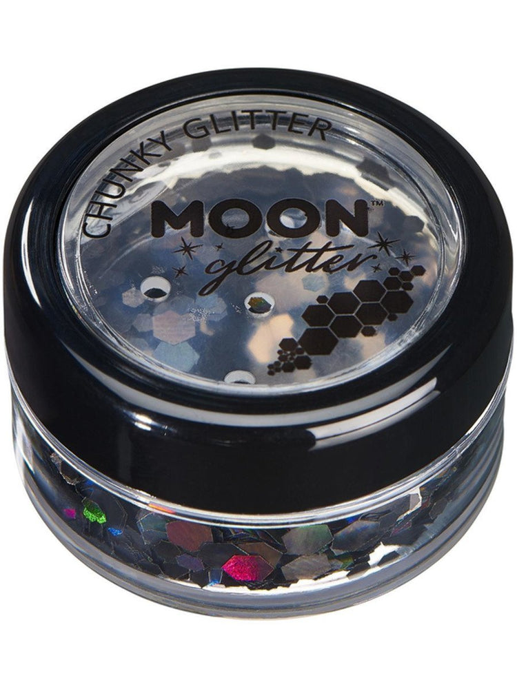 Moon Glitter Holographic Chunky Glitter - Rose Gold