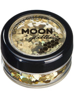 Moon Glitter Holographic Chunky Glitter - Black