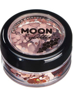 Moon Glitter Holographic Chunky Glitter - Silver