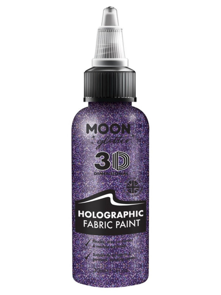 Moon Glitter Holographic Glitter Fabric PaintG14563