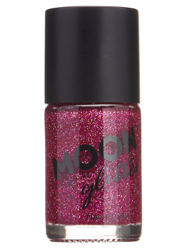 Moon Glitter Holographic Nail Polish - Gold