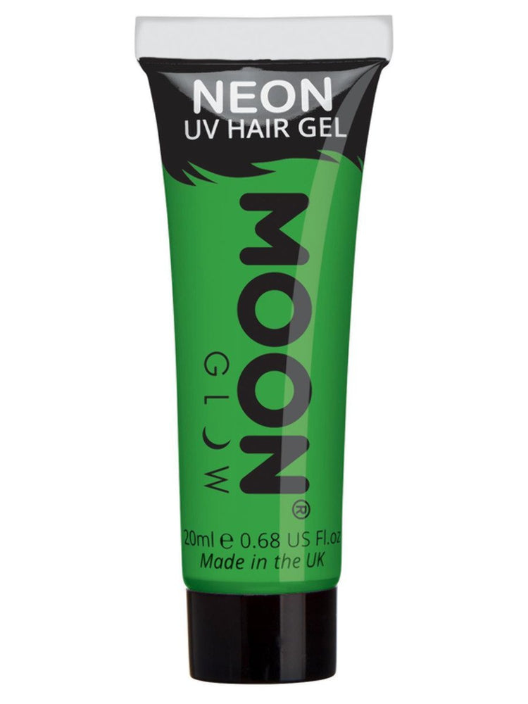 Moon Glow Intense Neon UV Hair Gel - White