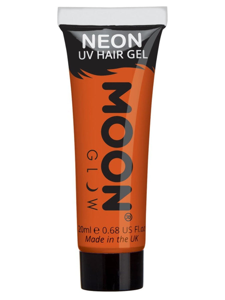 Moon Glow Intense Neon UV Hair Gel - Red