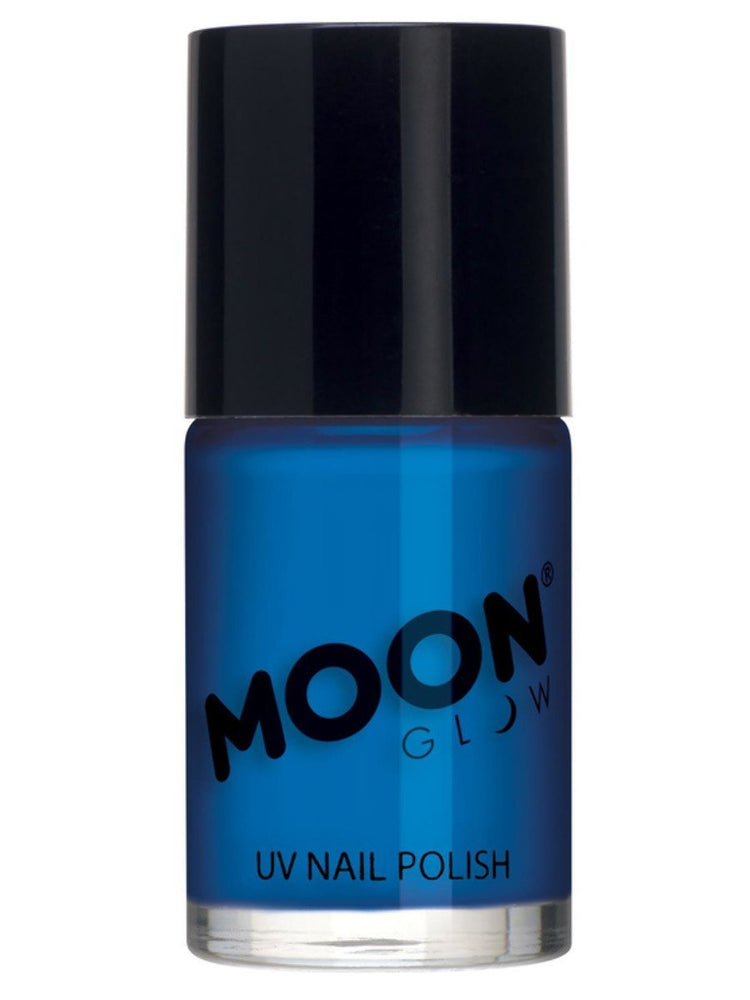 Moon Glow Intense Neon UV Nail Polish - Neon Blue